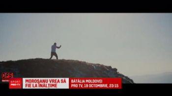Morosanu vrea sa dea de pamant cu bestia Turciei! Moartea din Carpati muta muntii din loc la propriu