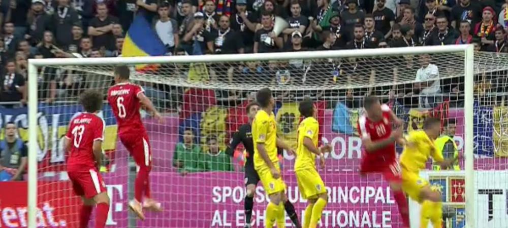 ROMANIA 0-0 SERBIA|ROSU SEC pentru Tamas! TATARUSANU, EROU! Romania a REZISTAT in 10 impotriva Serbiei! AICI toate fazele meciului