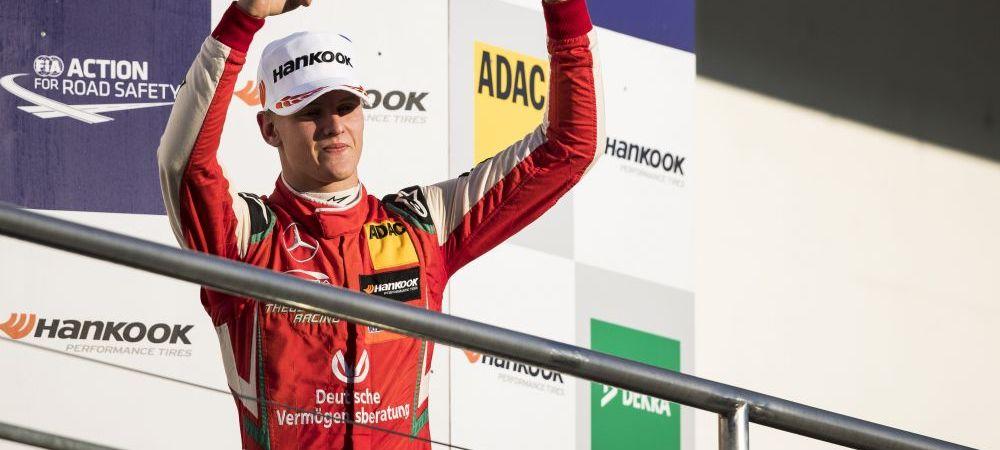 Performanta fantastica pentru Mick Schumacher: campion european in Formula 3! Fiul lui Michael Schumacher este la un pas de Formula 1