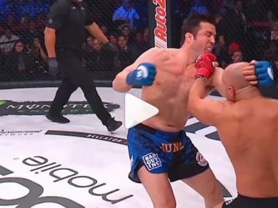 Victorie halucinanta pentru Fedor! ULTIMUL IMPARAT si-a distrus adversarul in prima runda - VIDEO