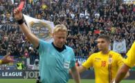ROMANIA - SERBIA | Trebuia sau NU sa fie eliminat Tamas dupa ce l-a nimerit in FATA pe Gacinovic la penalty? VOTEAZA AICI