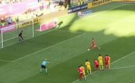 Romania - Serbia | A sutat in STRATOSFERA! :)) Noroc cat o PELUZA pentru Romania la penalty-ul lui Tadic. Cum a putut sa traga