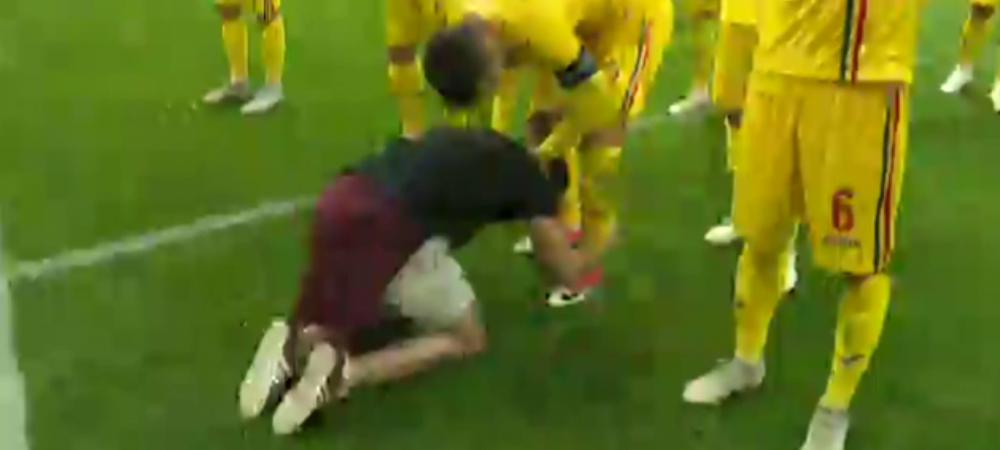 ROMANIA 0-0 SERBIA | Momentul care NU s-a vazut la TV! A intrat in teren si i-a PUPAT ghetele! Ce s-a intamplat dupa Romania - Serbia