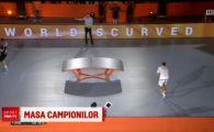 Un roman a luat titlul mondial la fotbalul pe masa de tenis! Neymar si Ronaldinho sunt innebuniti dupa acest sport