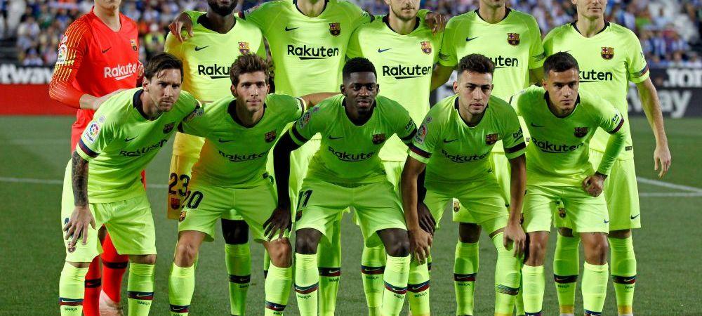 Criza la Barcelona, dupa inca o accidentare! Catalanii vor avea doar doi fundasi la meciurile cu Sevilla, Inter si Real Madrid