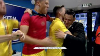 ROMANIA U21 LA EURO 2019 | Jucatorii i-au STROPIT interviul lui Radoi! Momente FABULOASE in direct la Pro X! Ce a cerut Radoi dupa calificare