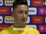 """ROMANIA U21 LA EURO 2019   """"Bei apa plata la petrecere?"""" - """"Am trecut si eu de 18 ani..."""" Schimb de replici GENIAL cu Morutan dupa calificarea la EURO"""