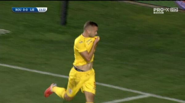 ROMANIA U21 - LIECHTENSTEIN U21 - GOOOOOL Puscas! Romania e la un pas de Euro
