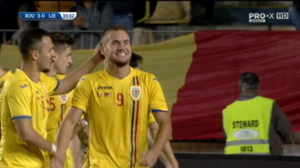 ROMANIA U21 - LIECHTENSTEIN U21 - Puscas reuseste dubla