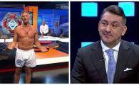 """Pariul nebun facut cu Ilie Dumitrescu in direct la TV! """"Vin in emisiune in chiloti, ca Lineker la BBC"""""""