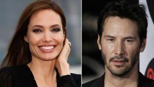 Angelina Jolie și Keanu Reeves, cel mai nou cuplu de la Hollywood
