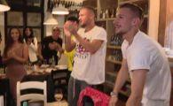 ROMANIA U21 LA EURO 2019 | N-au venit singuri la petrecere! NEBUNIA a continuat in oras! Cum au petrecut jucatorii nationalei U21 dupa calificare