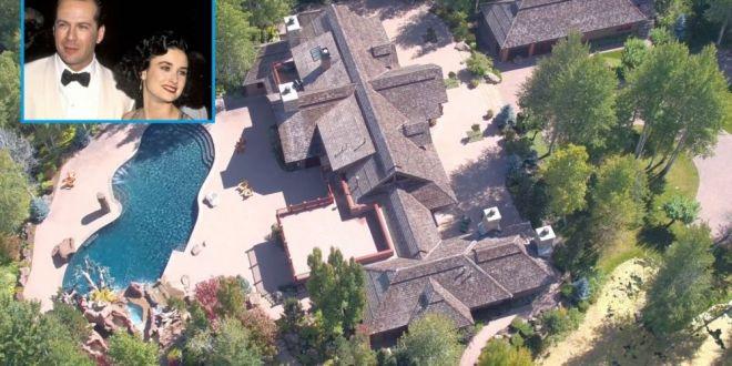 Bruce Willis a vândut conacul în care a locuit cu Demi Moore. A obținut un preț de nimic