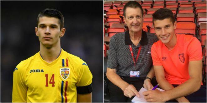 Primul roman din nationala U21 care a dat lovitura dupa calificarea la EURO: a semnat pe 3 ani cu o echipa din Premier League