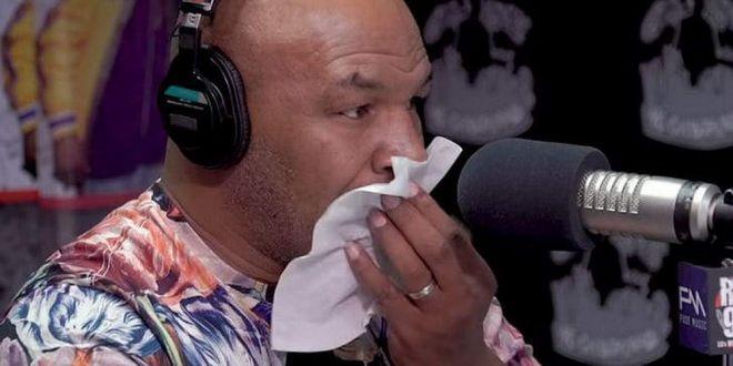Mike Tyson a izbucnit in LACRIMI in direct:  E foarte dificil sa vorbesc despre asta!  DRAMA traita de marele luptator