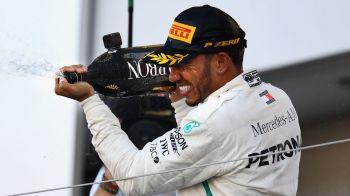 """Lewis Hamilton, aproape de al 5-lea titlu mondial in F1: """"Obiectivul meu a fost sa-l egalez pe Senna!"""" Ce spune despre recordul lui Michael Schumacher"""
