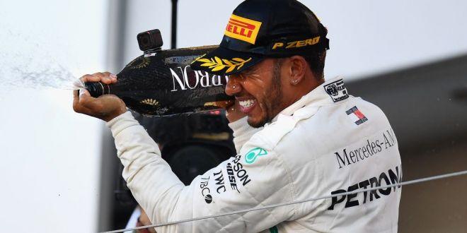 Lewis Hamilton, aproape de al 5-lea titlu mondial in F1:  Obiectivul meu a fost sa-l egalez pe Senna!  Ce spune despre recordul lui Michael Schumacher