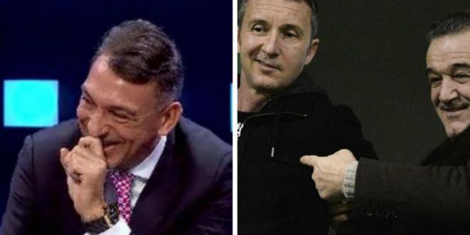 Ilie Dumitrescu a ras in hohote dupa o replica a lui Becali! Ce a spus despre MM Stoica, in direct la TV