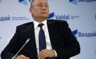 """Singura întrebare care l-a făcut pe Putin nervos: """"Îmi doresc să schimbăm subiectul"""""""