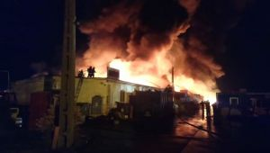 Incendiu URIAS in Sibiu. Avioanele care treceau prin zona au fost alertate