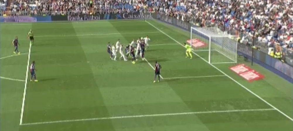 Faza incredibila la meciul Realului! Golul lui Ramos a fost validat, apoi anulat pentru off-side, hent si pentru ca mingea nu a depasit linia portii