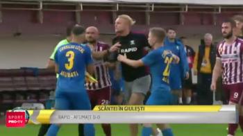 Rapidul, pas gresit in liga a treia: 0-0 cu Afumati si scandal la final! Jucatorii au sarit la bataie! Ce a spus Daniel Pancu despre sansele la promovare: VIDEO
