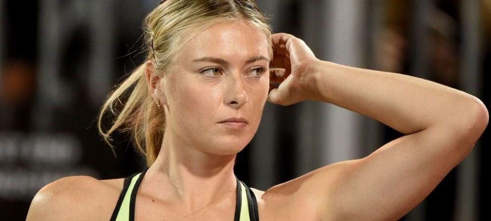 Lovitura neasteptata pentru Maria Sharapova! Cum pierde rusoaica 11,5 milioane de euro pe an