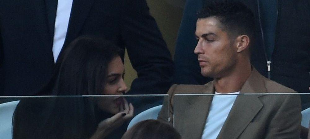 Surpriza pentru Cristiano! Georgina si-a schimbat look-ul si i-a purtat noroc lui Ronaldo