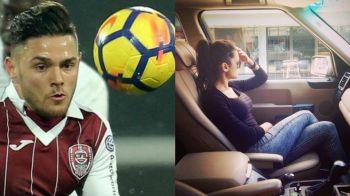 """Alex Ionita is in a relationship!"" Cum arata BOMBA SEXY cu care s-a cuplat fotbalistul de la CFR"