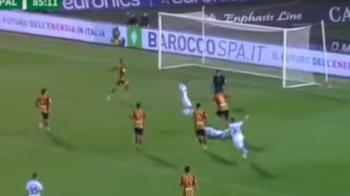 GOOOOL PUSCAS! A marcat primul gol pentru Palermo, la 3 minute dupa ce a intrat in teren. VIDEO