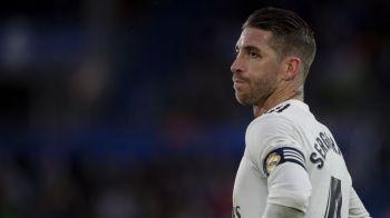"""Mesajul TRANSANT al lui Sergio Ramos pentru Florentino Perez: """"Daca vor parerea mea, o sa le-o transmit!"""" Cum e privita demiterea lui Lopetegui in vestiarul Realului"""