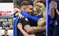INTER - MILAN 1-0 | Icardi, imaginea etapei in Serie A! A dat golul victoriei si s-a sarutat cu femeia pentru care i-a declarat RAZBOI lui Messi! FOTO
