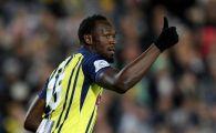 Ar putea sa joace la Dinamo! Ce salariu i-au propus australienii lui Usain Bolt! Legenda sprintului i-a convins ca poate fi fotbalist