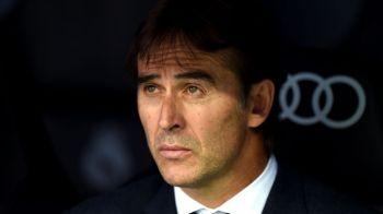 """Lopetegui, sincer: nu stie daca va fi antrenorul Realului si la El Clasico! """"Tot ce stiu e ca maine, cu Plzen, voi sta pe banca"""""""