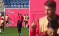 """Sergio Ramos a intrat pe internet la scurt timp dupa ce si-a pierdut cumpatul la antrenament si a explicat ce s-a intamplat. Reguilon: """"Alaturi de capitanul nostru"""""""