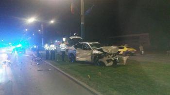 Nepotul lui Ilie Balaci, implicat intr-un accident teribil! Sunt 4 raniti | FOTO