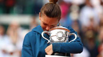 """Am plans cand a castigat Roland Garros!"" Dezvaluirea INCREDIBILA a unei mari campioane: A trait intens triumful Simonei Halep"