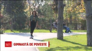 """E povestea mea, sper sa fie povestita intr-un mod placut!"" Diana Bulimar a renuntat la gimnastica: e antrenor de fitness"