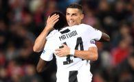 MANCHESTER UNITED - JUVENTUS 0-1 | Ronaldo pleaca victorios de pe Old Trafford, dupa ce i-a pasat decisiv lui Dybala. Suporterii lui United au cerut demisia lui Mourinho