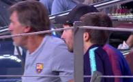FOTO | Cum a reactionat Leo Messi la golul marcat de inlocuitorul sau cu Inter! Argentinianul, in tribune dupa ce si-a rupt mana