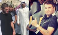 Mutu, fata in fata cu noul star din UFC! Khabib, in vizita la Al Wahda, echipa antrenata de Reghecampf. VIDEO