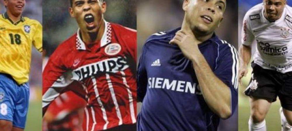 Ca s-a schimbat! Transformarea fizica suferita de brazilianul Ronaldo! Cum arata fostul atacant in copilarie. FOTO