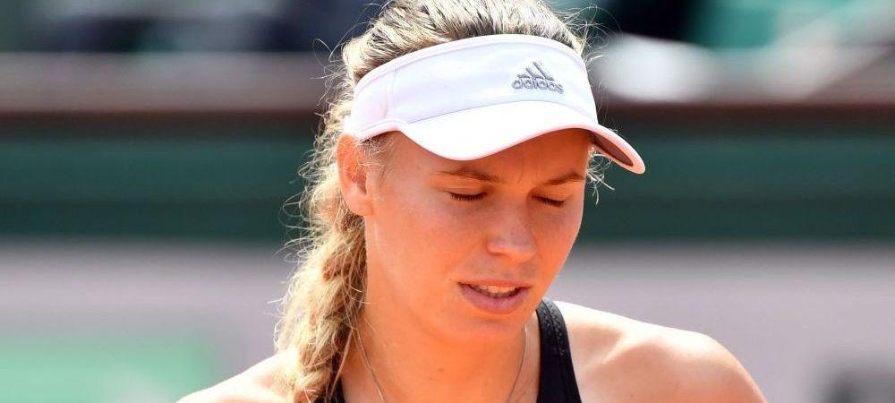 """Wozniacki a socat pe toata lumea! A fost eliminata de la Turneul Campioanelor si a dezvaluit ca sufera de o boala autoimuna: """"Nu puteam ridica mainile deasupra capului!"""""""