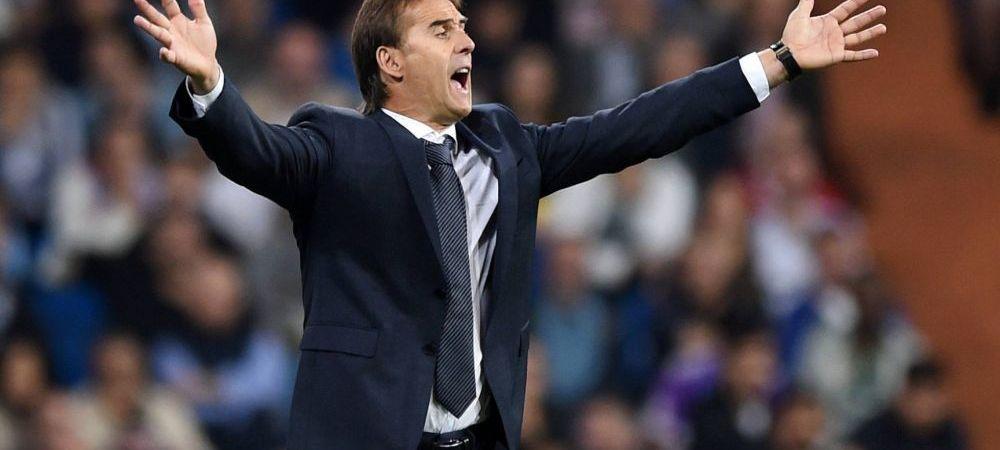 FURTUNA la Real: Lopetegui, demis pentru cateva minute! Perez, moment de furie dupa meciul cu Plzen: motivul pentru care Lopetegui mai sta pe banca la El Clasico
