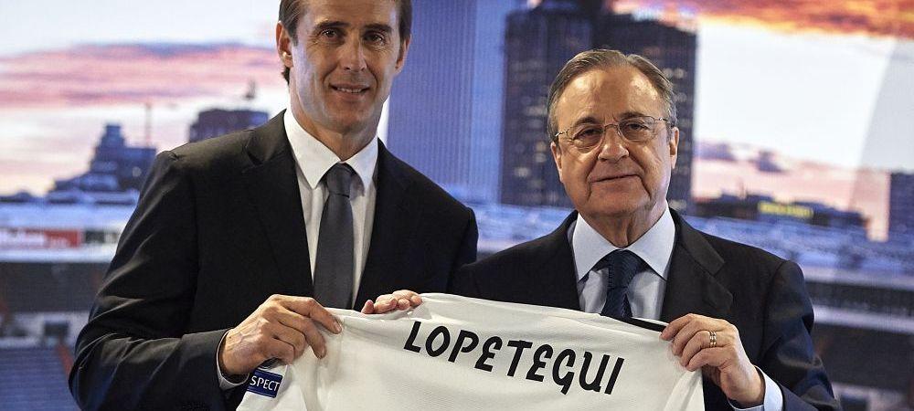 Anunt incredibil: Real Madrid a oferit 50 de milioane de euro pentru a transfera un antrenor! Omul pe care Perez il vrea la carma echipei, in locul lui Lopetegui