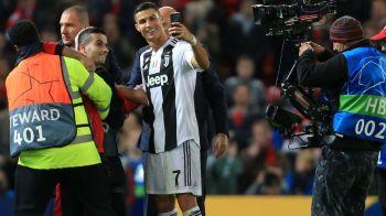 Suporterul care si-a facut selfie-ul cu Ronaldo a pus poza pe net! Nu e doar un fan, e obsedat dupa Cristiano Ronaldo