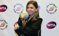 Simona Halep, inca un trofeu primit din partea WTA