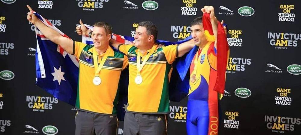 Romania a cucerit doua medalii de aur la Jocurile Invictus. FOTO