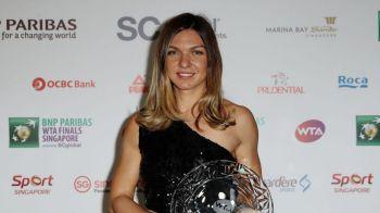 Simona Halep, AVANS URIAS in clasamentul WTA! Cum este avantajata romanca de rezultatele de la Singapore