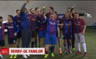 Barca si Real s-au infruntat la Bucuresti cu 3 zile inaintea derby-ului de pe Camp Nou! Fanii lui Messi i-au invins pe suporterii lui Ramos